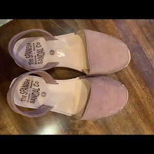 Spanish sandals